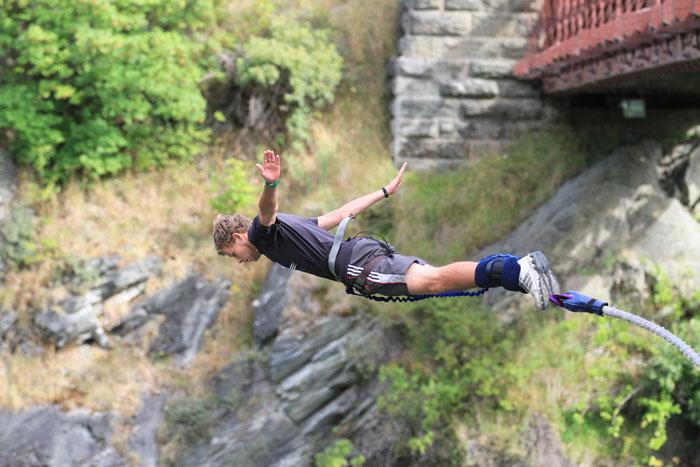 bungee jumping neuseeland